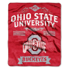 NCAA Ohio State Buckeyes 50x60 Raschel Throw Blanket