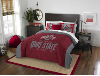 NCAA Ohio State Buckeyes QUEEN Comforter and 2 Shams