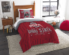 NCAA Ohio State Buckeyes Twin Comforter Set