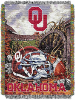 NCAA Oklahoma Sooners Home Field Advantage 48x60 Tapestry Throw
