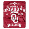 NCAA Oklahoma Sooners 50x60 Raschel Throw Blanket