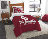 NCAA Oklahoma Sooners Twin Comforter Set