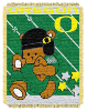NCAA Oregon Ducks Baby Blanket