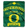NCAA Oregon Ducks 50x60 Raschel Throw Blanket