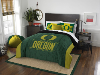 NCAA Oregon Ducks QUEEN Comforter and 2 Shams
