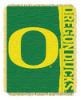 NCAA Oregon Ducks FOCUS 48x60 Triple Woven Jacquard Throw