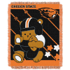 NCAA Oregon State Beavers Baby Blanket