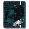 NFL Philadelphia Eagles SPIRAL 48x60 Triple Woven Jacquard Throw