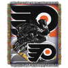 NHL Philadelphia Flyers Home Ice Advantage 48x60 Tapestry Throw