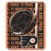NHL Philadelphia Flyers 48x60 Triple Woven Jacquard Throw
