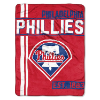 MLB Philadelphia Phillies 50x60 Micro Raschel Throw