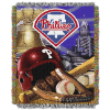 MLB Philadelphia Phillies Home Field Advantage 48x60 Tapestry Throw