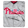 MLB Philadelphia Phillies 50x60 Raschel Throw