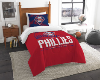 MLB Philadelphia Phillies Twin Comforter Set