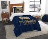 NCAA Pittsburgh Panthers Twin Comforter Set