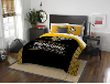 NHL Pittsburgh Penguins QUEEN Comforter and 2 Shams