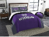 NBA Sacramento Kings QUEEN Comforter and 2 Shams