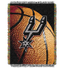 NBA San Antonio Spurs Real Photo 48x60 Tapestry Throw
