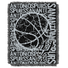NBA San Antonio Spurs 48x60 Triple Woven Jacquard Throw