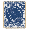MLB San Diego Padres 48x60 Triple Woven Jacquard Throw