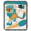 NHL San Jose Sharks Baby Blanket