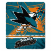 NHL San Jose Sharks 50x60 Fleece Throw Blanket