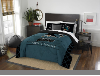 NHL San Jose Sharks QUEEN Comforter and 2 Shams