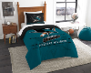 NHL San Jose Sharks Twin Comforter Set