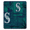 MLB Seattle Mariners 50x60 Fleece Throw Blanket