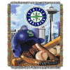 MLB Seattle Mariners Home Field Advantage 48x60 Tapestry Throw