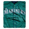 MLB Seattle Mariners 50x60 Raschel Throw
