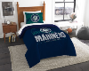 MLB Seattle Mariners Twin Comforter Set