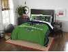 NFL Seattle Seahawks QUEEN Comforter and 2 Shams