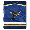 NHL St. Louis Blues JERSEY 50x60 Raschel Throw