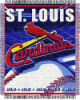 MLB St. Louis Cardinals 48x60 Triple Woven Jacquard Throw