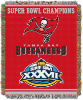 NFL Tampa Bay Buccaneers Commemorative 48x60 Tapestry Throw