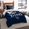 NFL Tennessee Titans Twin Comforter Set