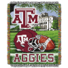 NCAA Texas A&M Aggies Home Field Advantage 48x60 Tapestry Throw