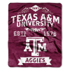 NCAA Texas A&M Aggies 50x60 Raschel Throw Blanket