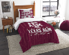 NCAA Texas A&M Aggies Twin Comforter Set