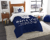 NHL Toronto Maple Leafs Twin Comforter Set