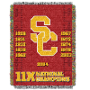NCAA USC Trojans Commemorative 48x60 Tapestry Throw
