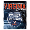 NCAA Virginia Cavaliers 2019 NCAA Basketball Champs Commemorative Throw Blanket