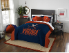 NCAA Virginia Cavaliers QUEEN Comforter and 2 Shams