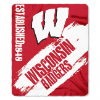 NCAA Wisconsin Badgers 50x60 Fleece Throw Blanket