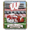 NCAA Wisconsin Badgers Home Field Advantage 48x60 Tapestry Throw