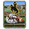NCAA Wyoming Cowboys Home Field Advantage 48x60 Tapestry Throw