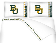 NCAA Baylor Bears Micro Fiber Bed Sheets