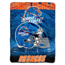 NCAA Boise State Broncos OVERTIME 60x80 Super Plush Throw