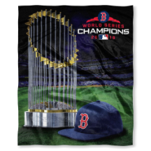 MLB Boston Red Sox World Series Champions 50x60 Silk Touch Blanket
